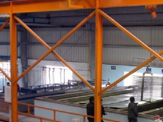 Hệ thống xử lý bề mặt trước khi sơn tĩnh điện